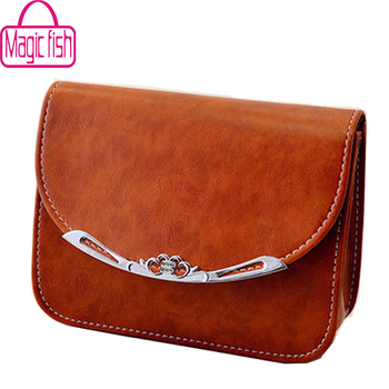 Magic Fish! women bags for women messenger bags shoulder bag ladies famous brand women's handbag mini cute purse LS5782mf