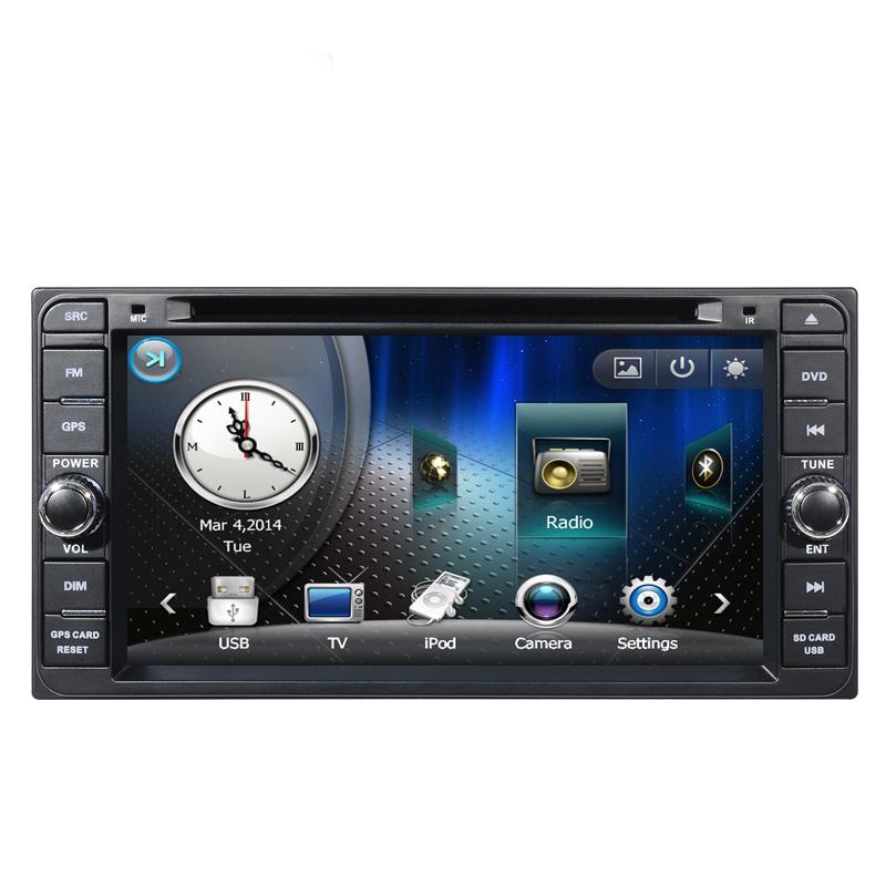 6.95'' Car DVD GPS for Toyota Fortune/Hiace/Highlander/Hilux/Ielas/Innova/Kluger/Land Cruiser/Lim/MR2/Previa GL/Perodua Nautica(China (Mainland))