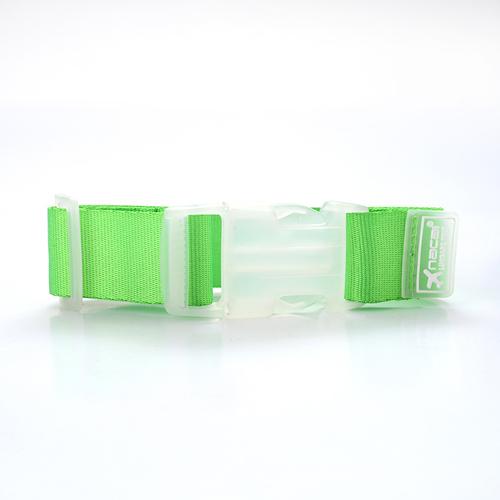SMILE MARKE Latest Design Beautiful Color Fresh Green Travel Accessories Nylon Luggage Straps(China (Mainland))