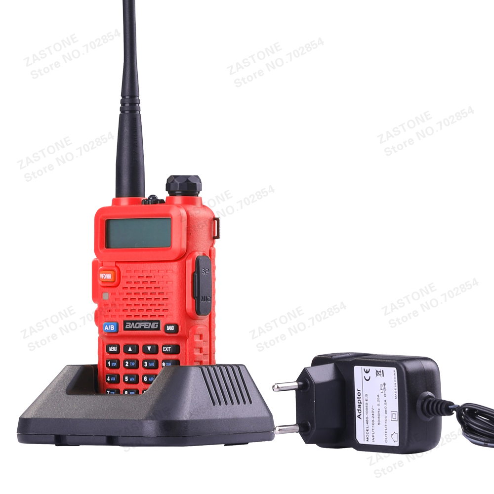 BAOFENG UV-5R Walkie Talkie Dual Band Radio 136-174Mhz & 400-520Mhz Baofeng UV 5R handheld Two Way Radio(China (Mainland))