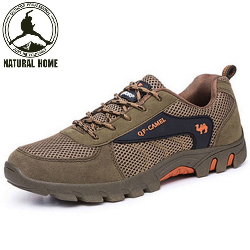 [NaturalHome] Brand Outdoor Spring Autumn Men's Mountain Climbing Boot Shoes Sport Sneakers Athletic Outdoor Walking Shoes Boots(China (Mainland))