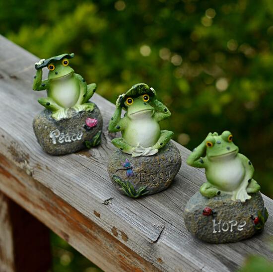 Promoci n de esperanza jardines compra esperanza for Ranas decoracion jardin