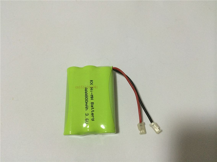 10 PCS/lot KX Original New Ni-MH AAA 3.6V 800mAh Ni MH Rechargeable Battery Pack With Plugs For Cordless Phone Free Shipping(China (Mainland))