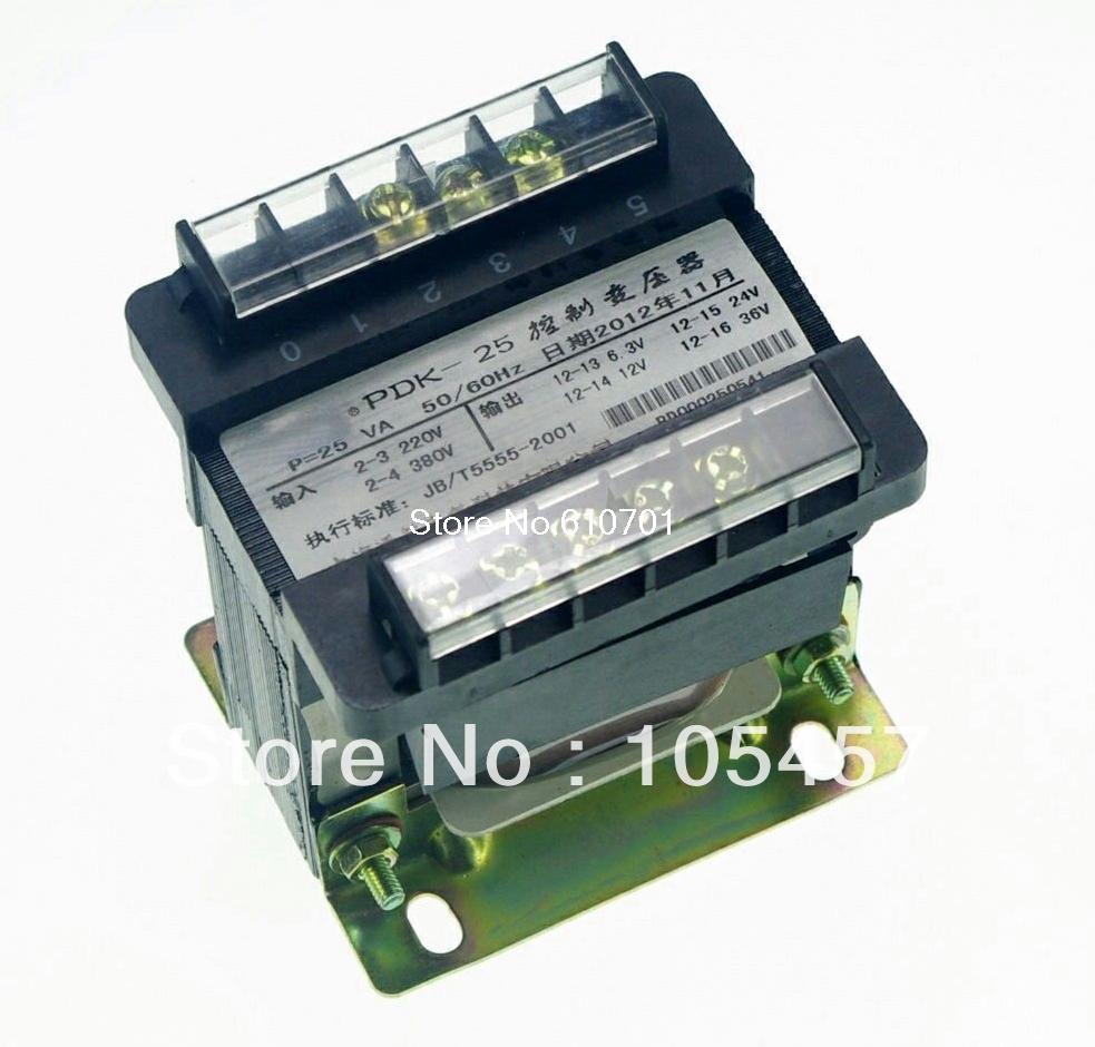 (1)Output AC 0-6.3V-24V-36V-220V Single Phase Control Transformer 25VA<br><br>Aliexpress
