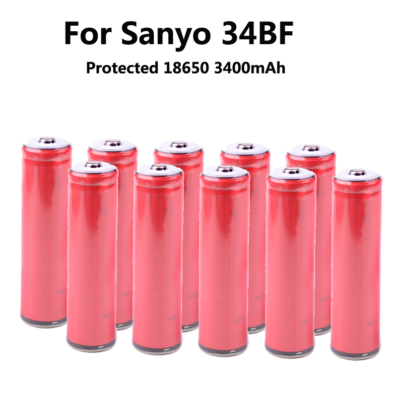 2015 Sanyo New Original 18650 3.7V 3400mAh battery rechargeable batteries NCR18650BF safe industrial use