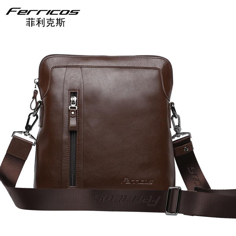 2015 New Arrival Men Solid Genuine Leather Casual Messenger Bags Crossbody Shoulder Bag Brand Designer Handbags High Quality<br><br>Aliexpress
