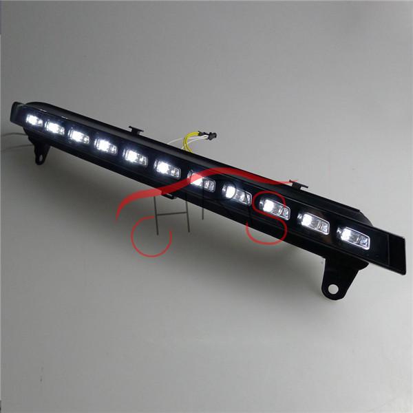 Ultra-bright  LED Daytime Running Light LED DRL light  FOR Audi Q7 2007 2008 2009 2010  White Freeshipping<br><br>Aliexpress