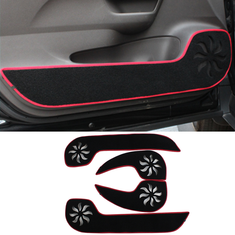 2 colors Car - Styling Protector Side Edge Protection Pad Protected Anti-kick Door Mats Cover For Honda CITY 2014 2015 2016<br><br>Aliexpress