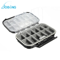 Bobing 170x110x48mm Large Waterproof Storage Case Fishing Lure Bait Hooks Spoon Tool Fly Fishing Tackle Box