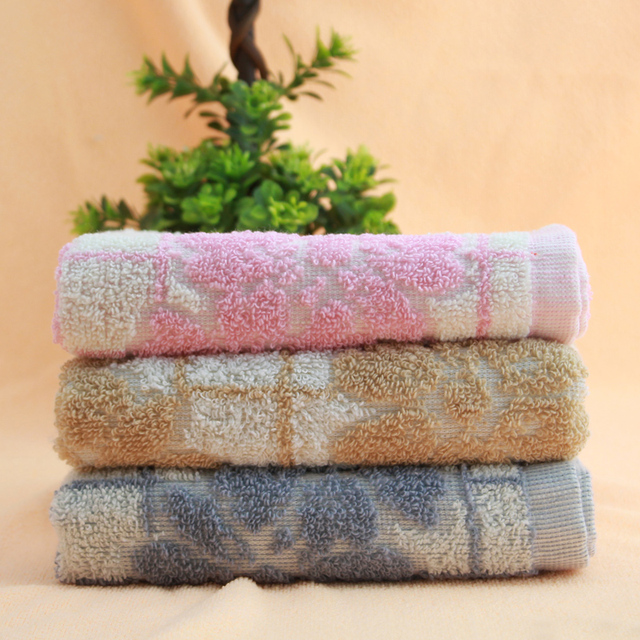 Cotton jacquard 100% absorbent towel thickening Large washouts general towel