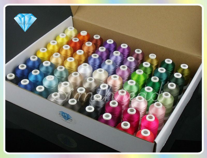 6 thread embroidery machine