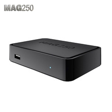 5pcs new android tv box Mag250 set top box Media player support Wifi usb connector/ Cable Not include IPTV account free shipping