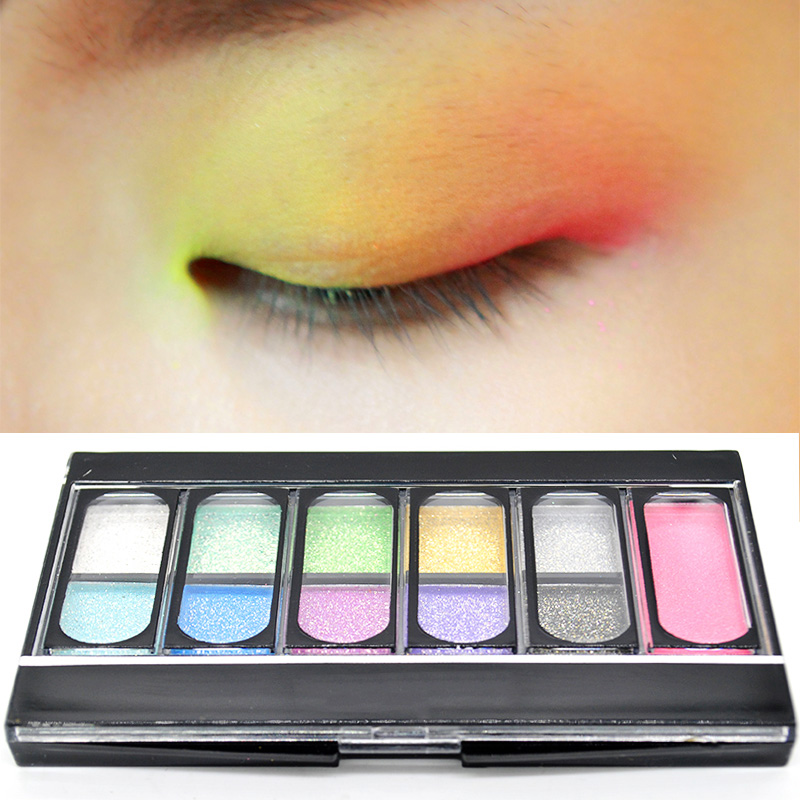 10 Colors/set Eye Shadow Palette 1 Color Blush Palette Cosmetics Mineral Make Up Makeup Eyeshadow Set for Women(China (Mainland))