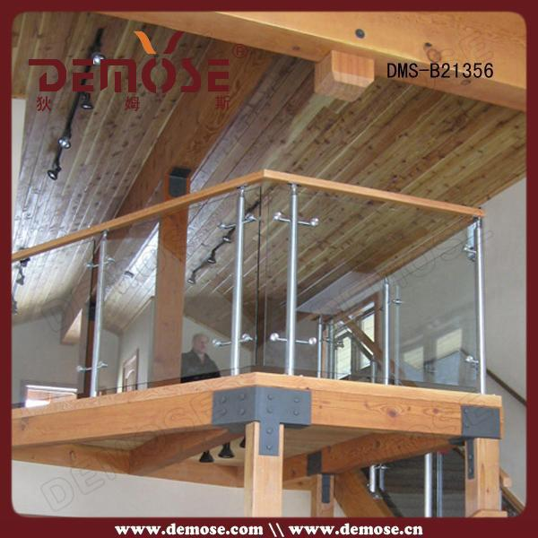 Indoor Prefabricated Prices Glass Balcony Railings