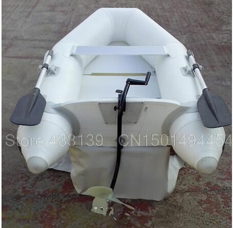 ручной мотор для надувной лодки