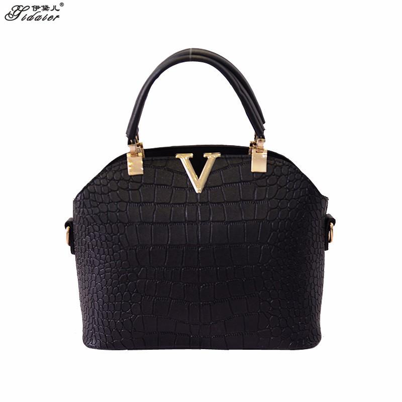 Retro Black Mini PU Women Shoulder Bag Fashion Ladies Sac A Main Designer Handbags High Quality Fine Leather Valentine Tote Bag(China (Mainland))