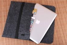"Wool Felt Ultrabook Sleeve Bag for Macbook Air Pro Retina 11″ 13″ 15″ 17"" Laptop Inner Case"