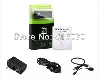New Android 4.2 Wholesale high quality MK808 Mini PC Android TV box 4.2 Dual-Core 1.6 GHz RAM 1GB ROM 8GB HDMI real 1080P