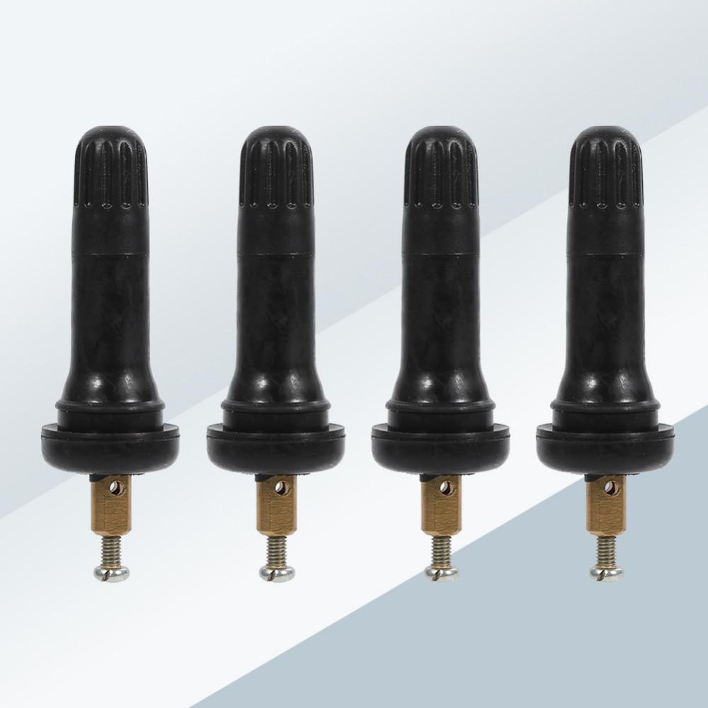 Sensor Valve Stem 4Pcs TPMS Tire Pressure Monitoring System Anti-explosion Snap In Tire Valve Stems Snap In Tire Valve Stems