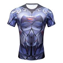 Compression Tee T-shirts Men Black Panther Superhero Civil War Men Marvel Avengers iron man t shirt Fitness Male Crossfit Tops(China (Mainland))