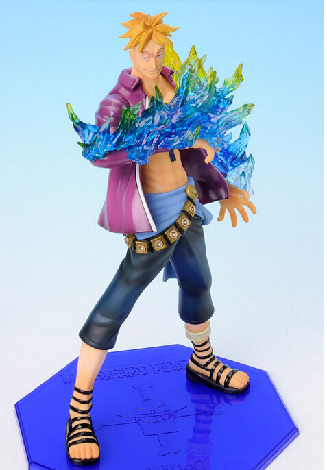 One Piece marco Figure POP ZORO PVC 260mm one piece anime action figures toys