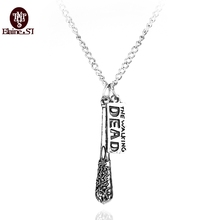 Buy 2016 Movie Jewelry Walking Dead Necklace Crossbow Pendant Necklace women fashion accessory oxidized free drop for $1.08 in AliExpress store