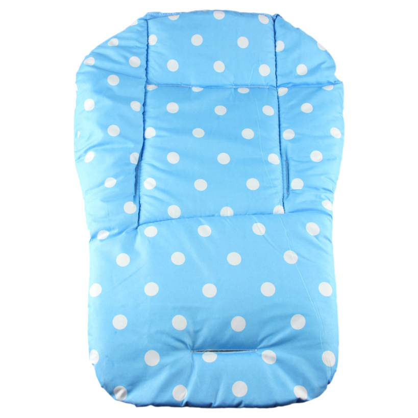 Amazing Baby thickness colorful stroller cushion child cart seat cushion cotton rainbow general cotton thick mat(China (Mainland))