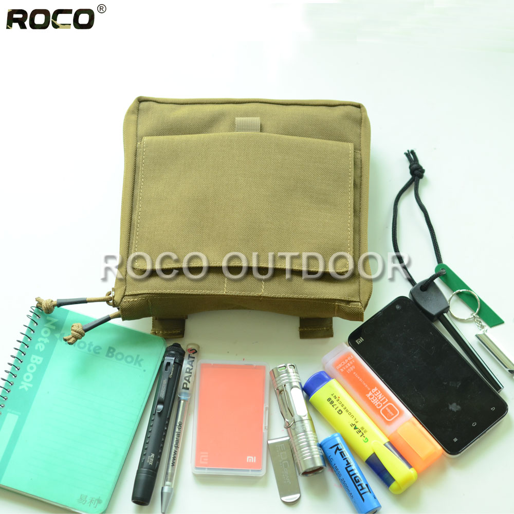 ROCO Lightweight Tactical Organizer Military Utility Waist Packs MOLLE Tactical Low Profile OP Pouch Cordura Nylon 1000D<br><br>Aliexpress