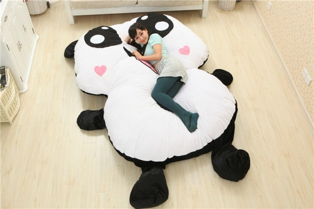 Aliexpress.com : Buy Large Chinese Cartoon Stuffed Plush Animals Panda Style Decorative Pillows ...