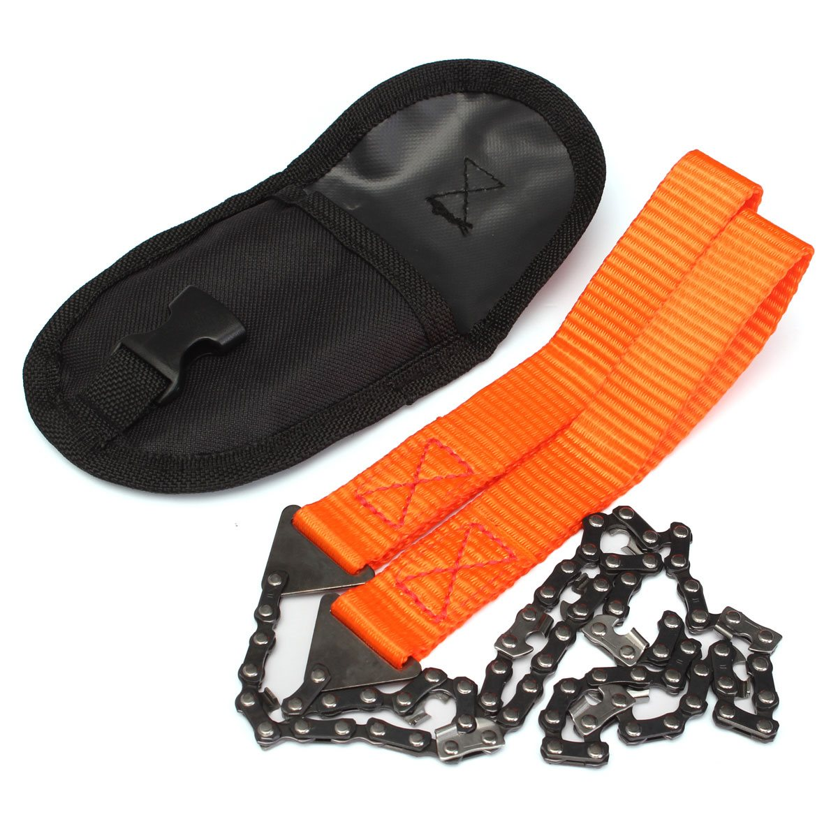 Multifunction Hand Chain Saw Camping Hiking Survival Emergency Tool With Pouch outdoor travel kits(China (Mainland))