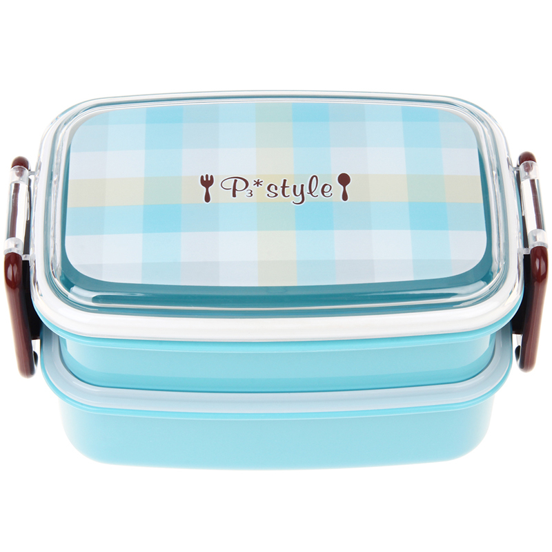 Bento lunch box non plastic lunch box large plastic bento for Decor 6l container
