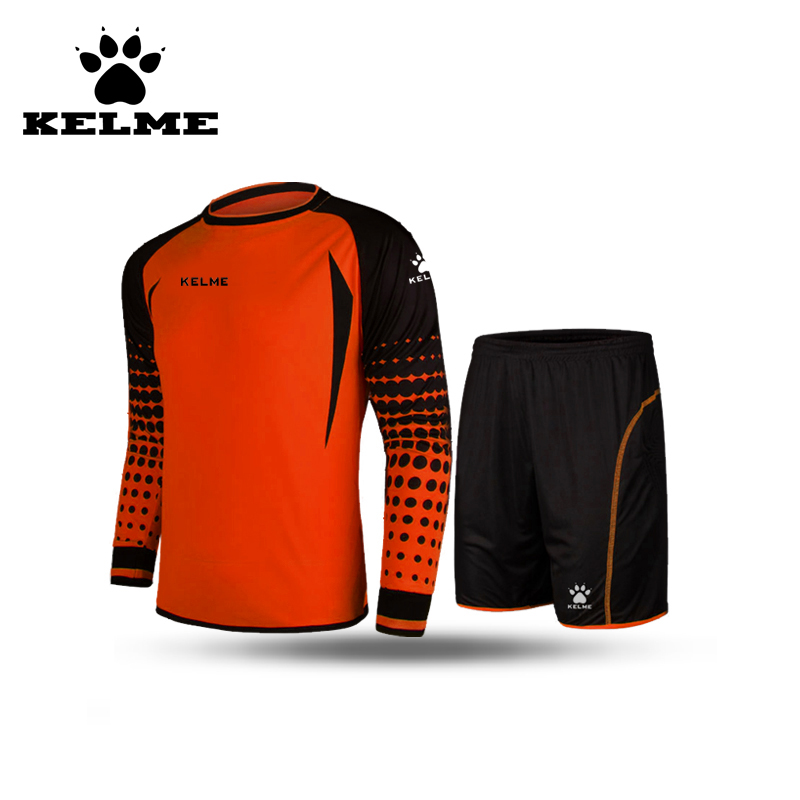 KELME Official Authentic Soccer Uniform Kits For Teams Tracksuits Football Referee Jerseys Men Long Sleeve Shorts O-Neck 28(China (Mainland))