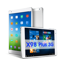 Teclast x98 più 3g Windows10 e android 5.1 tablet pc intel  Cherry trail z8300 9.7 pollice 2048x1536 schermo retina 4 gb/64 gb pc(China (Mainland))