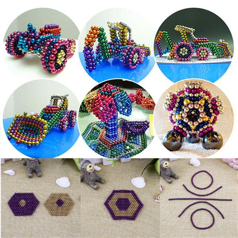 2016 Hot Sale 216pcs 3mm Magnetic Balls Puzzle Beads Cube Children Kids DIY Toy Gift Drop Shipping(China (Mainland))