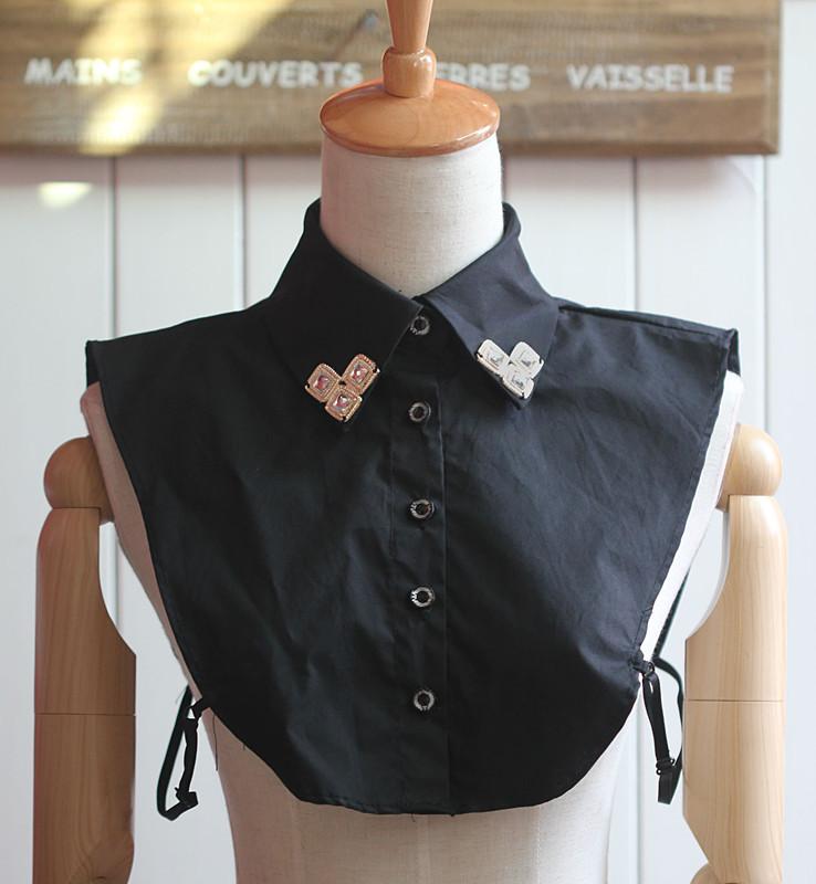 Simple stylish fake collar shirts Ladies Accessories Korean fake collar Fashion jewelry Fake collar necklace fake collar shirt(China (Mainland))