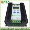 PWM wind solar hybrid controller 400w with LCD display 12V 24V auto distinguish battery controller 600w