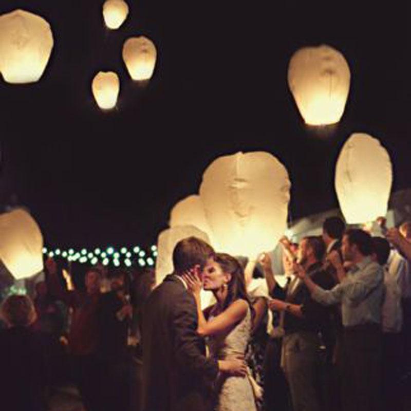 Free shipping 5pcs/lot Chinese kongming lanterns,Christmas SKY Balloon Kongming wishing Lanterns Flying Light Halloween Lights(China (Mainland))