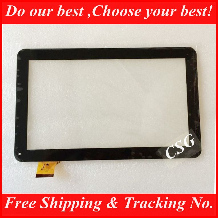 """10pcs/lot NEW 10""""1 inch Touchscreen Tablet PC YCF0464-A For Turbopad 1014 Digma TT1040MG/Oysters T12 3G Touch Panel Digitizer(China (Mainland))"""