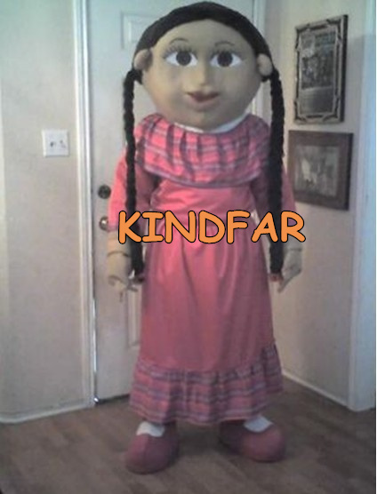Girl Mexican Costume Mexican Girl Mascot Costume