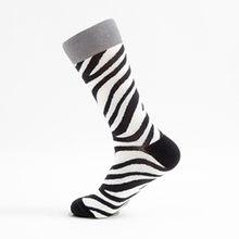 Осень сардины Омар животных рисунком личности пары носки смешные Happy Socks из чесаного хлопка красочные дышащий Для мужчин носки(China)