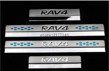 Buy Toyota RAV4 RAV 4 2013 2014 2015 2016 Stainless Steel Door Sill Protector Pedal Scuff Plate Cover Trims Car Accessories 4Pcs for $20.70 in AliExpress store