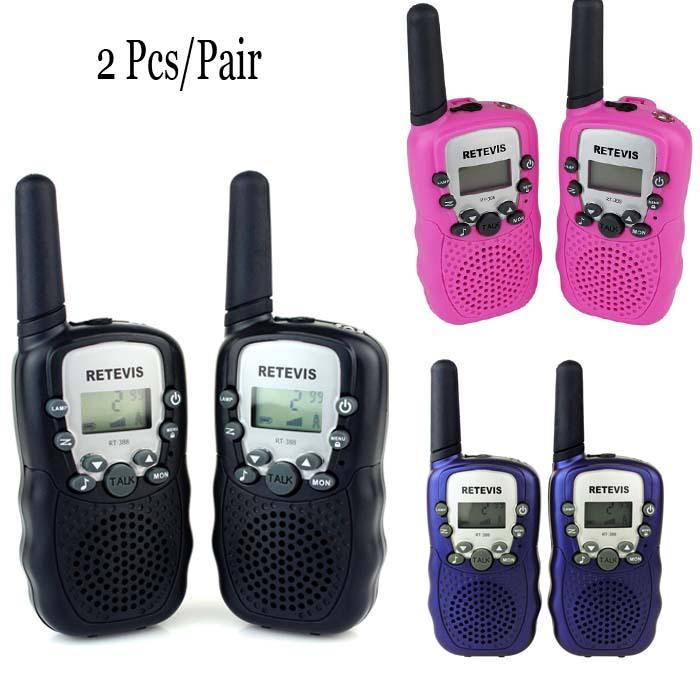 5km long range 2pcs pack Twin Talkie Walkie interphone T388 22 channel FRS/GMRS walkie talkies LED flashlight Field operation(China (Mainland))
