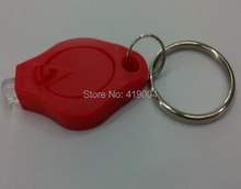Colorful Micro Light with Keychain Micro Flashlight fedex DHL Free shipping ,200pcs/lot(China (Mainland))
