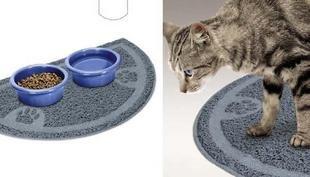 """Pet Products Cat Supplies Pet Doormat Petmate Kitty Cat Litter Box Mat Clean Cat Litter Mat Keep Floor Clean 36X60CM/14.2""""X23""""(China (Mainland))"""