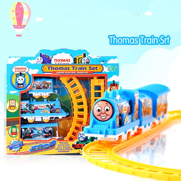 Thomas Train Electric Railway Rail Track Train Thomas And Friends Boy Toy Car Hot Wheels Cars Machines Kids Toys for Children(China (Mainland))