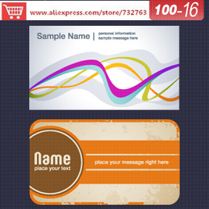 0100-16 business card template for spiritual business cards design a business card online christmas cards<br><br>Aliexpress