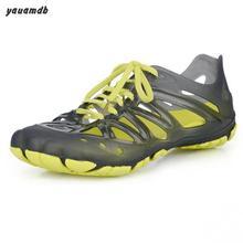 Yauamdb hommes chaussures 2016 nouveau homme jardin chaussures d'été EVA mâle creux plage mules creux Fond Mou Respirant lace up chaussures y30(China (Mainland))