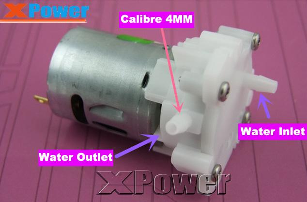 Hot Sales 1 Piece Horizontal 5V DC Pump Small Submersible Pump DC 3 -12 V Mini Aquarium Pump(China (Mainland))