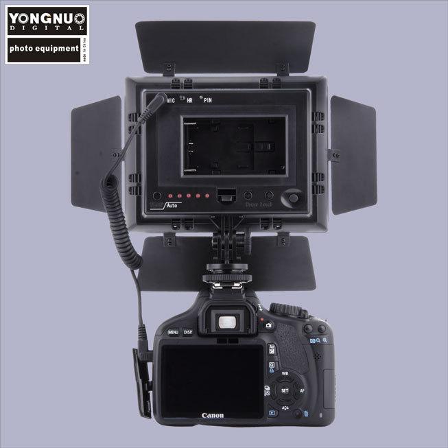 Yongnuo YN-160II 160-LED 5600K 10W Light Video Flash For Canon Nikon Free shipping(China (Mainland))