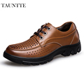High Quality Frekwork Breathable Dress Shoes Anti Odor Genuine Leather Men Business Shoes